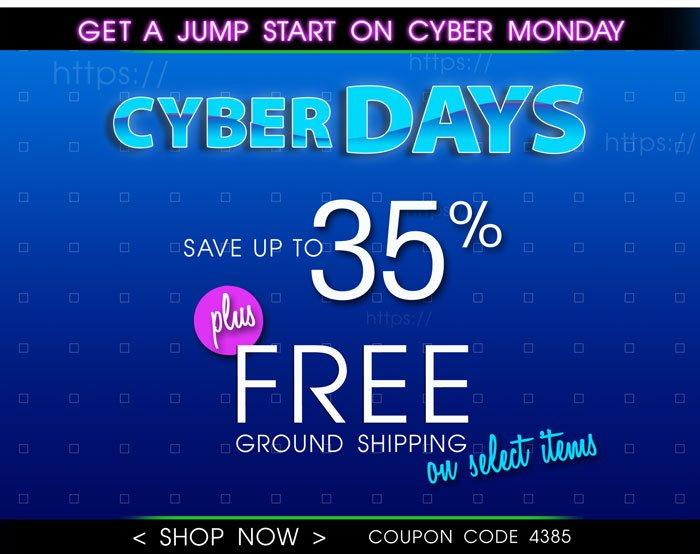 Shop Cyber Days!