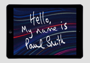 PAUL SMITH FOR iPAD AVAILABLE NOW