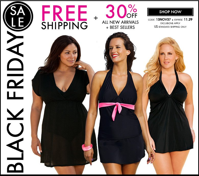 Black Friday Preview: Free Shipping + 30% OFF All New Arrivals + Best Sellers