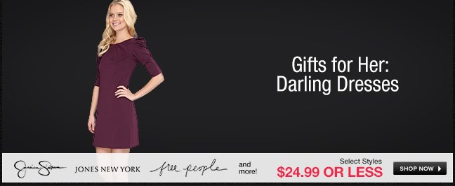 Gifts for Her: Darling Dresses