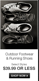 Outdoor Footwear and Running Shoes