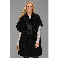 BCBGMAXAZRIA Smyth Poncho Coat