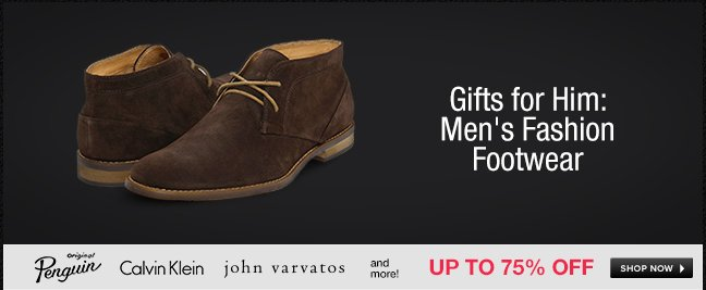 Gifts for Him: Men's Fashion Footwear