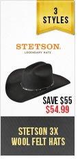 Stestson Wool Hats
