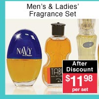 Men's and Ladies' Fragrance Sets