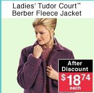 Ladies' Berber Fleece Jacket