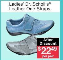 Ladies Leather One-Straps