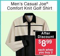 Men's Knit Golf Shirt