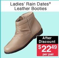 Ladies' Leather Booties