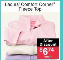 Ladies' Fleece Top