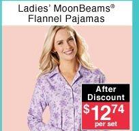 Ladies' Flannel Pajamas