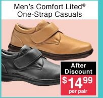 Men's One-Strap Casuals