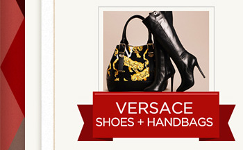 Versace Shoes + Handbags