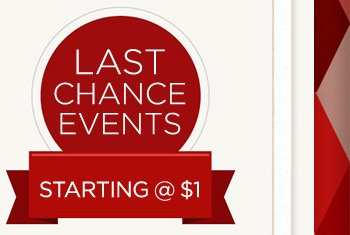 Last Chance Events
