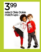3.99 select Okie Dokie match-ups ›