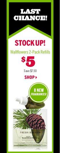 Wallflowers 2-Pack Refills – $5