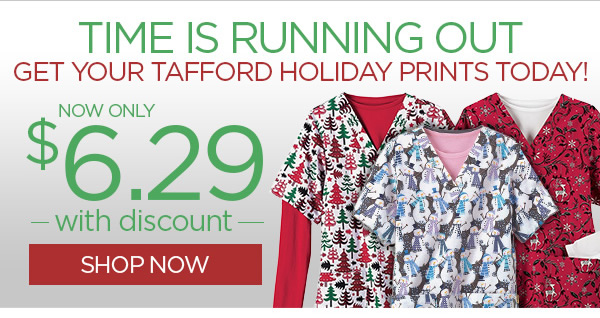 Time is Running Out! Tafford Holiday Prints Now Only $6.29