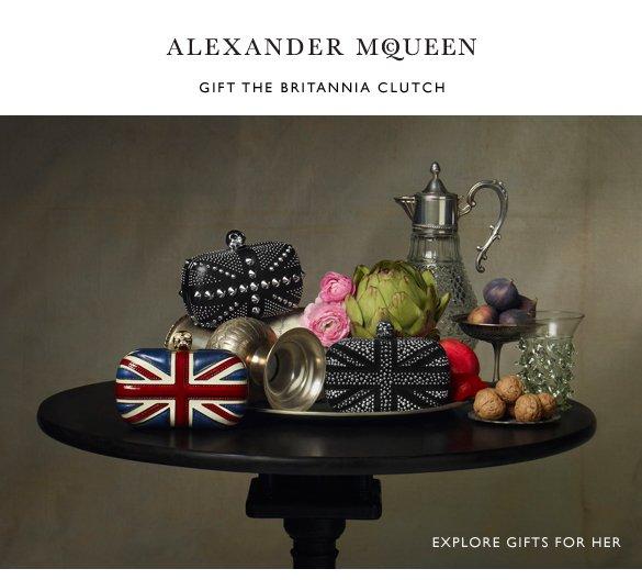 Gift the Britannia Clutch