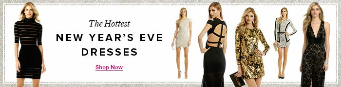 The Hottest New Year's Eve Dresses
