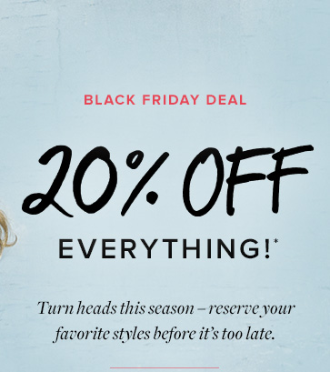 Black Friday Deal - Browse All