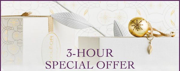 3 Hour Special Offer