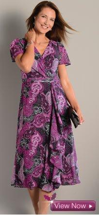 View the Print Dress