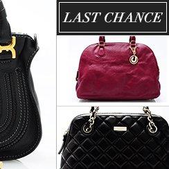 Last Chance: Designer Handbags From $1
