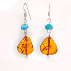 Amber & Turquoise Jewelry