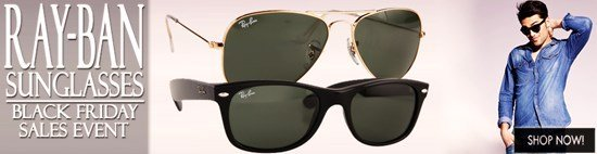Black Friday Blow-out: Save big on Ray-Ban sunglasses!