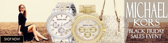 Black Friday Blow-out: Save big on Michael Kors watches and more!