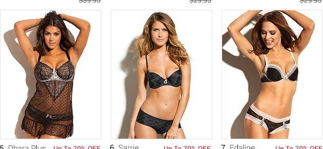 Shop lingerie on sale!