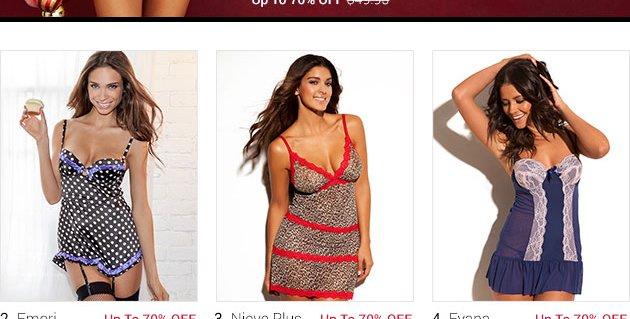 Alessandra lingerie set on sale!