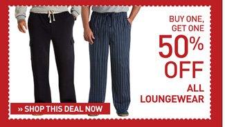 Shop BOGO 50% Off Loungewear