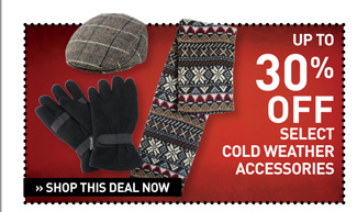 Shop BOGO 50% Off Cold Weather Accessories
