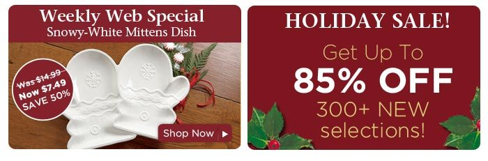 Weekly Web Special & Holiday Sale