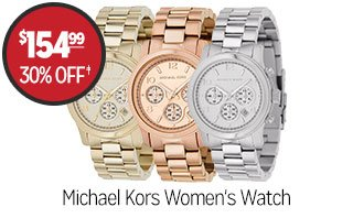 Michael Kors Women's Watch - $154.99 - 30% off‡