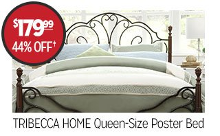 TRIBECCA HOME Queen-Size Poster Bed - $179.99 - 44% off‡