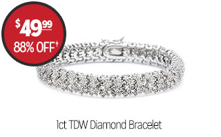 1ct TDW Diamond Bracelet - $49.99 - 88% off‡