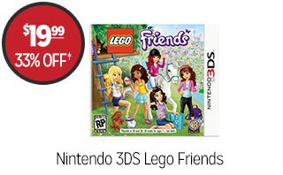 Nintendo 3DS Lego Friends - $19.99 - 33% off‡
