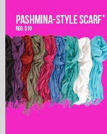 Pashmina-Style Scarves - $5! SHOP NOW!