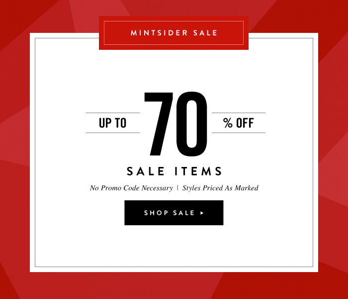 Up To 70% Off Sale Items