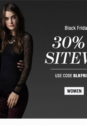 30% Off Sitewide - Womens