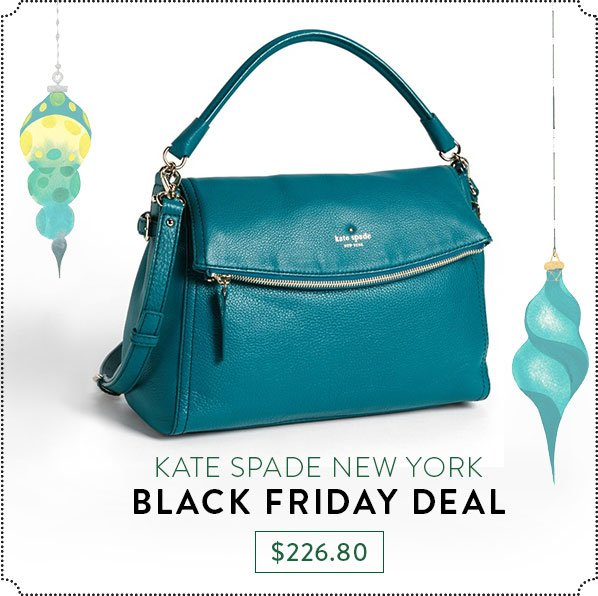 KATE SPADE NEW YORK - BLACK FRIDAY DEAL - $226.80