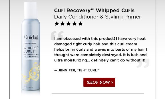 Curl Recovery Whipped Curls. Shop Now