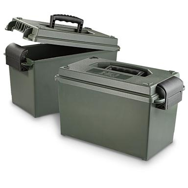 2 HQ ISSUE™ .50 cal. Ammo Cans
