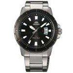 Orient UNE2001B Men's SP Black Dial Stainless Steel Bracelet Watch