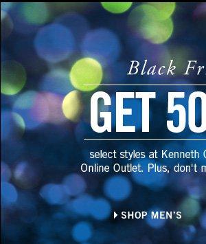 Black Friday Sale. GET 50% OFF // Shop Men's