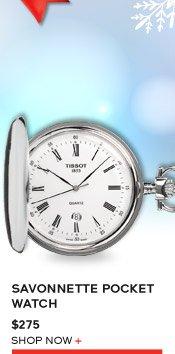 Savonnette Pocket Watch $275