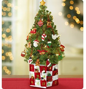 Countdown to Christmas Spruce Tree Shop Now