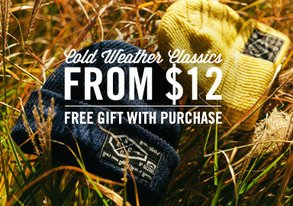 Shop Cold Weather Classics from $12
